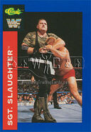 1991 WWF Classic Superstars Cards Sgt. Slaughter 26