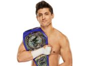1 WWE Cruiserweight Champion T.J. Perkins