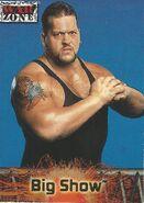 2001 WWF RAW Is War (Fleer) Big Show 56