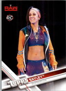2017 WWE Wrestling Cards (Topps) Bayley 5