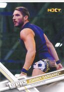 2017 WWE Wrestling Cards (Topps) Johnny Gargano 75