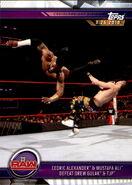 2019 WWE Road to WrestleMania Trading Cards (Topps) Cedric Alexander & Mustafa Ali 52