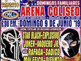 CMLL Guadalajara Domingos (June 9, 2019)