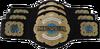 NEVER Openweight Six-Man Tag Team Championship Belt