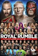 Royal Rumble 2018 poster 2