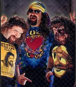 The Many Faces of Mick Foley