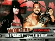 Undertaker vs Big Show ECW