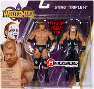 WWE Battle Packs WrestleMania 33 Sting & Triple H