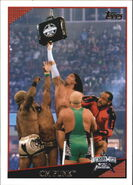 2009 WWE (Topps) CM Punk 79