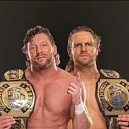 2 Adam Page and Kenny Omega AEW World Tag Team Champions