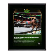 The New Day Money In The Bank 2016 10 x 13 Photo Plaque