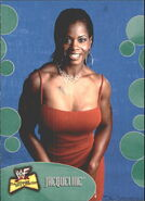 2001 WWF The Ultimate Diva Collection (Fleer) Jacqueline 32