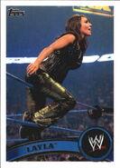 2011 WWE (Topps) Layla 58