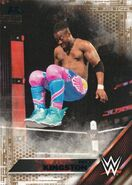 2016 WWE (Topps) Then, Now, Forever Kofi Kingston 129