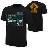 Brock Lesnar Suplex City Authentic T-Shirt