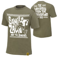 Sami Zayn Underdog From The Underground Youth Authentic T-Shirt