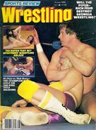Sports Review Wrestling - August 1982