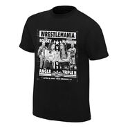 WrestleMania 34 Rousey & Angle vs. McMahon & Triple H Match T-Shirt