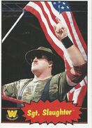 2012 WWE Heritage Trading Cards Sgt. Slaughter 104