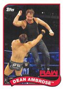 2018 WWE Heritage Wrestling Cards (Topps) Dean Ambrose 24
