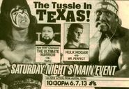 Saturday Night's Main Event XXVI Ad