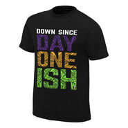 WrestleMania 34 The Usos Down Sicne Day One Ish T-Shirt