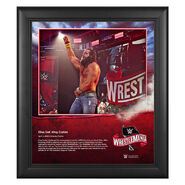 WrestleMania 36 Elias 15 x 17 Limited Edition Plaque