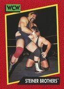 1991 WCW (Impel) Steiner Brothers 112