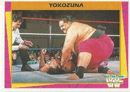 1995 WWF Wrestling Trading Cards (Merlin) Yokozuna 163