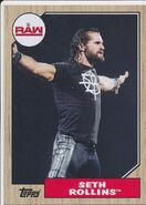 2017 WWE Heritage Wrestling Cards (Topps) Seth Rollins 35