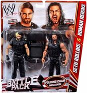 WWE Battle Packs 24 Seth Rollins & Roman Reigns