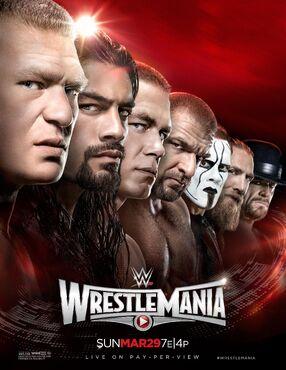 WWE WrestleMania 31 Poster (HD Quality)