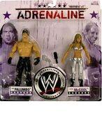 WWE Wrestling Adrenaline Series 31 Chuck Palumbo & Michelle McCool