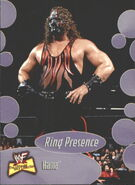 2001 WWF The Ultimate Diva Collection (Fleer) Kane 65