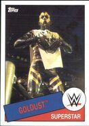 2015 WWE Heritage Wrestling Cards (Topps) Goldust 73