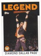 2016 WWE Heritage Wrestling Cards (Topps) Diamond Dallas Page 79