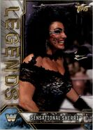 2017 Legends of WWE (Topps) Sensational Sherri 81