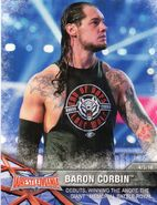 2017 WWE Road to WrestleMania Trading Cards (Topps) Baron Corbin 64