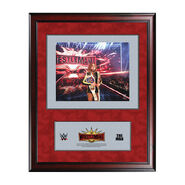 Becky Lynch WrestleMania 35 16 x 19 Ring Canvas Print Plaque