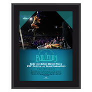 Evolution 2018 Becky Lynch 10 x 13 Photo Plaque