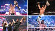 Grand Slam winners Seth Rollins