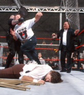 Mankind vs The Undertaker Hell in a Cell Match King of the Ring 1998 25