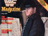 The Undertaker/Magazine covers