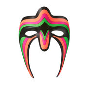 Ultimate Warrior Plastic Mask