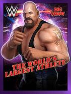WWE Champions Poster - 025 BigShowBlueCamo