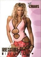 2004 WWE Chaos (Fleer) Miss Jackie 83