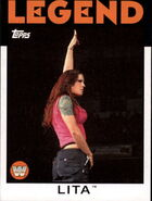 2016 WWE Heritage Wrestling Cards (Topps) Lita 89