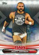 2019 WWE Raw Wrestling Cards (Topps) Scott Dawson 67