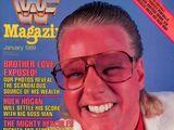 WWF Magazine - January 1989