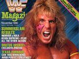 WWF Magazine - November 1990